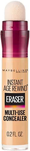 Maybelline Instant Age Rewind Eraser Dark Circles Treatment Multi-Use Concealer, Light, 0.2 Fl Oz (Pack of 1)