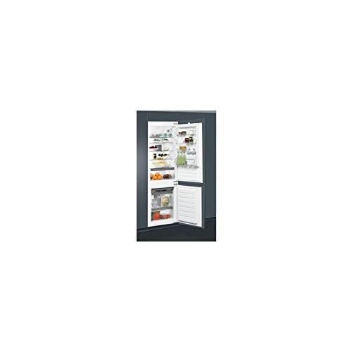 Whirlpool ART 6602/A+ Incasso 275L A+ Acciaio inossidabile frigorifero con congelatore