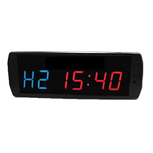 WyaengHai Countdown-Uhr Großer digitaler Intervall-Timer An der Wand montierte Multifunktions-Countdown-Uhr for Konferenz-Countdown-Zeit und Minuten Geeignet für Fitness-Studio Fitness