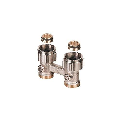 Buderus / Oventrop Multiflex F Heizkörper Hahnblock 3/4' Durchgangsform