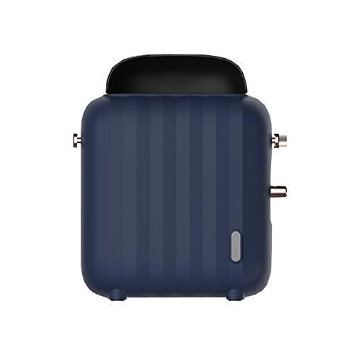 MGWA Heizer Brotheizung, Mini-Desktop für Studentenwohnheime (Farbe: Blau)