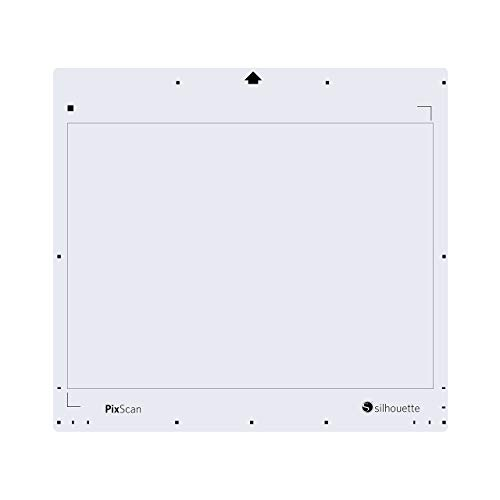 Silhouettes 12,75X 29,8cm Pixscan Tapis, Blanc