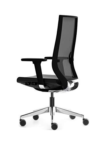 Silla de oficina, FORMA 5 Eben, silla de trabajo profesional y silla de escritorio ergonómica, diseño ideal para oficinas, 100% personalizable, mobiliario oficina