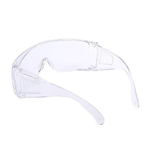 YQZX Gafas Protectoras ciegas Ácido y Resistente al Contenido de álcalis y Resistentes a Salpicaduras Gafas multifuncionales Gafas de Seguro de Trabajo,White