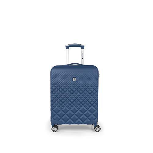 Gabol - Oporto   Maleta de Cabina Rigidas de 40 x 55 x 20 cm con Capacidad para 36 L de Color Azul