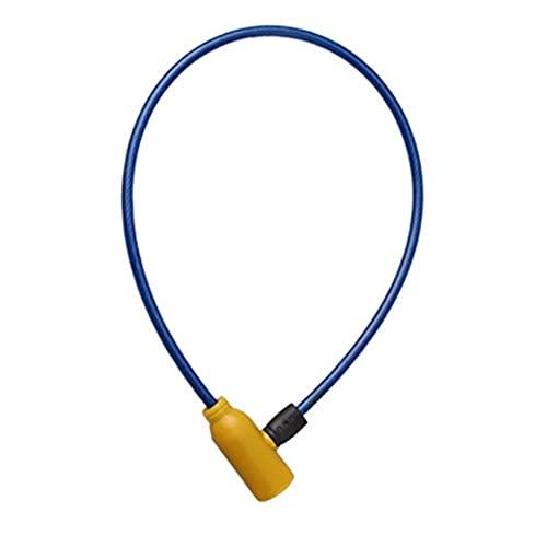 YUAN CHUANG Blocco Biciclette Metallo MTB Road Universal Outdoor Bike Bike Block con 2 Tasti Accessori for Biciclette (Colore : Blue)