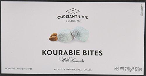 Chrisanthidis S.A. Kourabie Buttergebäck mit Mandeln 270g, 2er Pack (2 x 270 g)