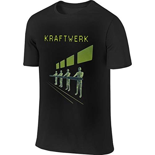 Kraftwerk Band T-shirt, 4 Colors for Men, S to 6XL
