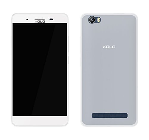 Case Creation Ultra Thin Flexible Soft Corner with TPU Slim Back Case Back Cover for Xolo Era 4K (Transparent)