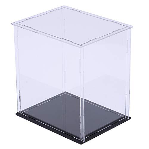 sharprepublic Desmontaje Caja De Cubos De Vitrina De Acrilico Transparente para Amiibo Funko Pop Figure Doll - Claro, 27x20x30cm