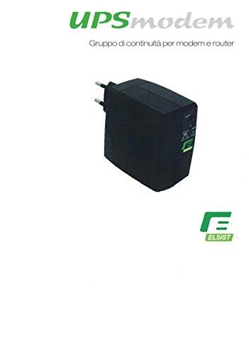 Elsist UPS MODEM USV module voor modem en router vermogen max. 25 W 12 V DC
