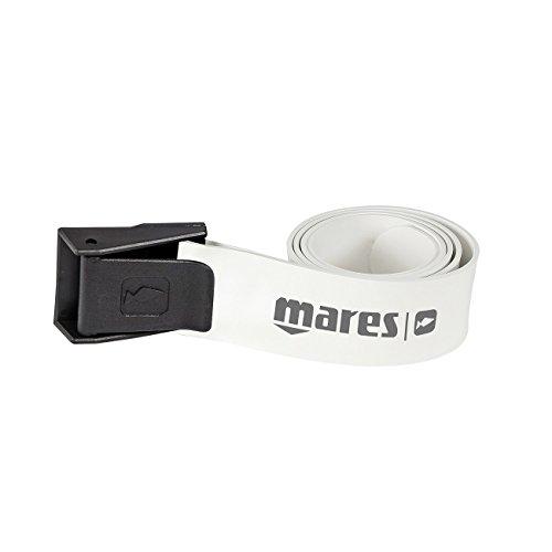 Mares 425812, Cintura Elastica per Apnea Unisex – Adulto, Bianco, Taglia Unica