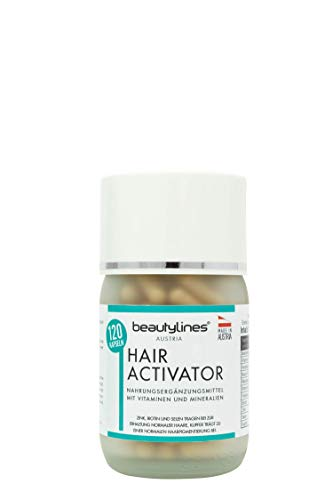 Beautylines - Hair Activator - 120 Hair Growth Capsules