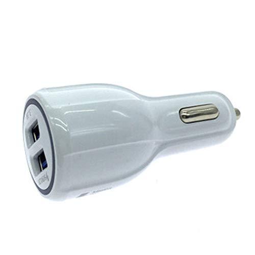Teléfono móvil Cargadores de automóviles Cargador de coche de doble puerto USB de carga rápida Cargador encendedor de automóvil Conversión enchufe USB for encendedor de cigarrillos de conversión Plug