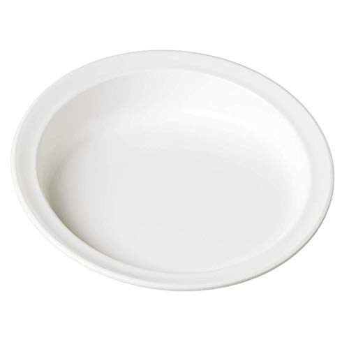 Performance Health Scoop Plate 23 cm/ 9-inch Diameter - White (Eligible for VAT relief in the UK)