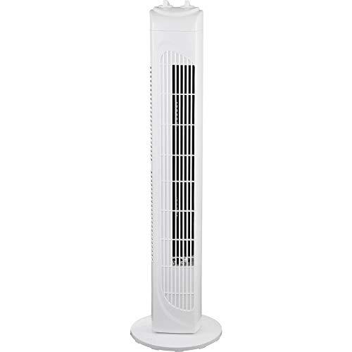 Basetech Turmventilator 40 W (Ø x H) 22 cm x 79 cm Weiß