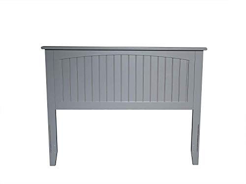 Atlantic Furniture AR282839 Nantucket Headboard, Full, Grey