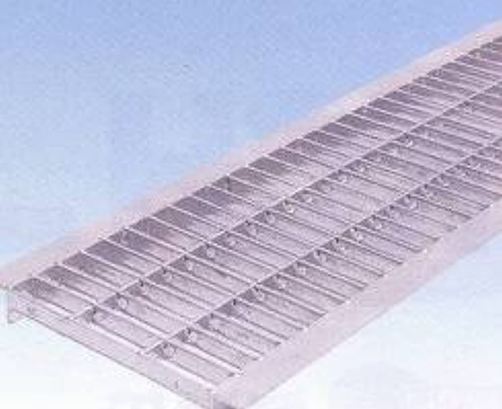フローティング割り当て文芸グレーチングU字側溝400mm用 組込式 普通目(並目)  適用荷重  T-2