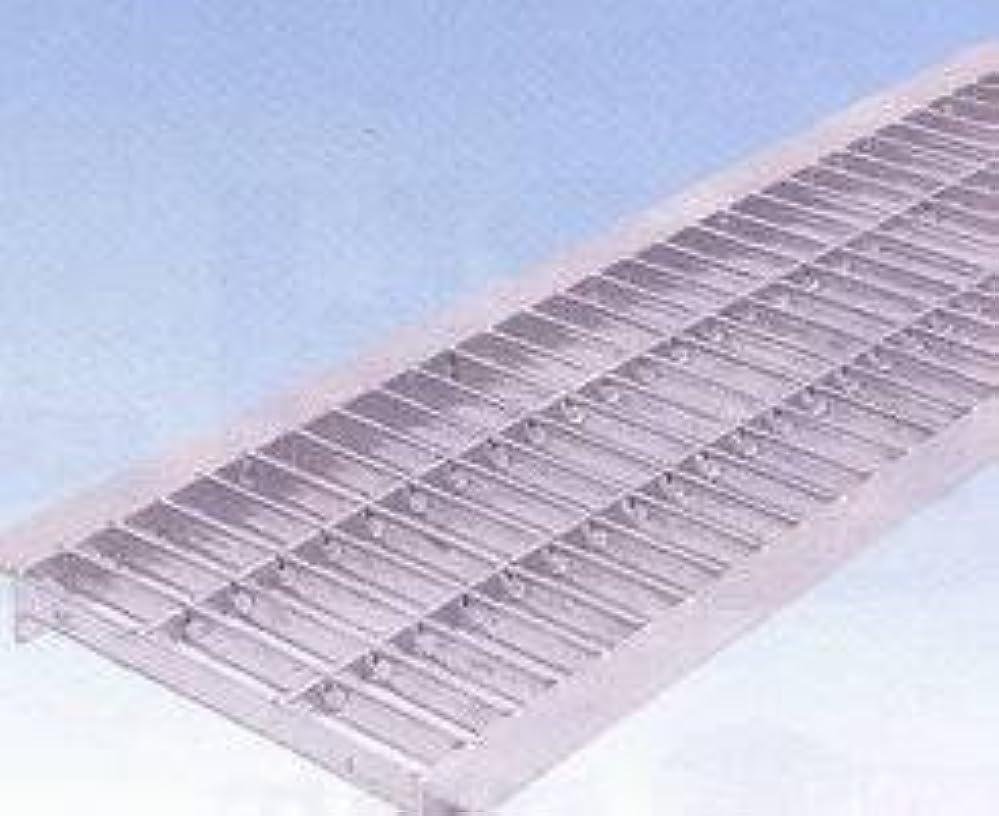 ギャップ倒産マウントバンクグレーチングU字側溝250mm用 組込式 普通目(並目)  適用荷重  T-2