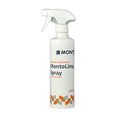 Conservación y Tratamiento en Spray para Materiales de Construcción afectados por Microbios y Algas. Montolimp Spray 500ml