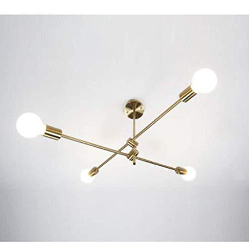 Decoración de muebles Lámpara colgante Modern Industrial Magic Beans Candelabro de metal Accesorio de iluminación Lámpara de techo suspendida Accesorio para la luz de la mesa del vestíbulo Comedor