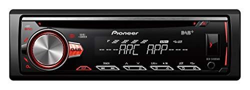 Pioneer DEH-S400DAB multifunctionele CD-autoradio met DAB+, USB en AUX-IN, RGB-verlichting apart instelbaar voor display en toetsen zwart