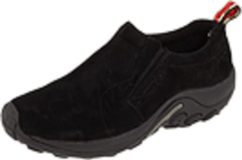 Merrell Women's Jungle Moc Slip-On Shoe, Midnight, 8.5 M US