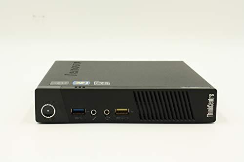 Lenovo Mini-PC ThinkCentre M83 (Tiny Version), CPU Intel Core i5 4570S 2.5 GHz, RAM 8 GB DDR3, 240 GB SSD, Windows 10 Pro (Generalüberholt)