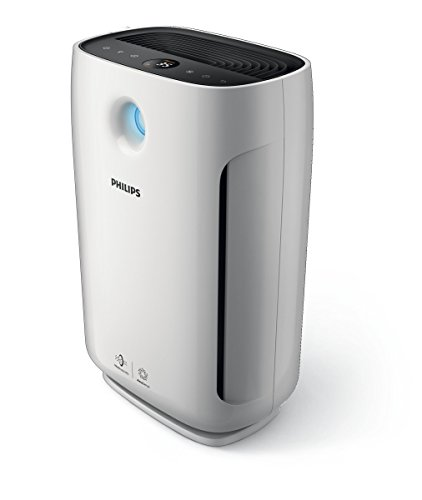Philips Series 2000 Air Purifier with AeraSense Technology (3 Auto Modes, Real Time Indoor Feedback & Smart Light Control), White, AC2887/70