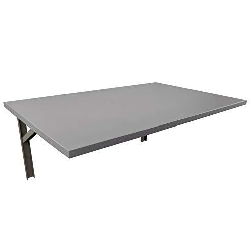 mikon 80x60 Wandtisch Wandklapptisch Küchentisch Schreibtisch Esstisch | Light Graphite