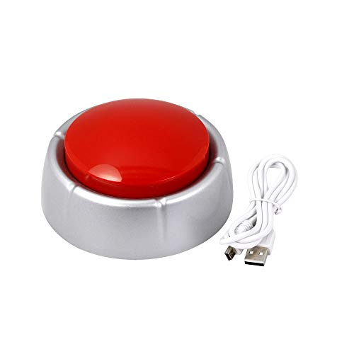 Neutral USB Sound Button- Make Your Own Button by Uploading Audio Files-Top Recordable Quality Playback