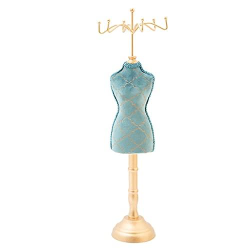 ShiftX4 Exhibición de la joyería - Señora modelo vestido zapatos de tacón alto pendiente collar anillo joyería titular vestido zapatos de tacón alto