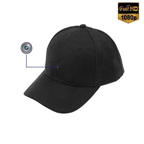 Cámara Capuchón espía 1080P HD 8GB Cámara Detector de movimiento Registrador Control remoto Gorra de béisbol Cámara portátil