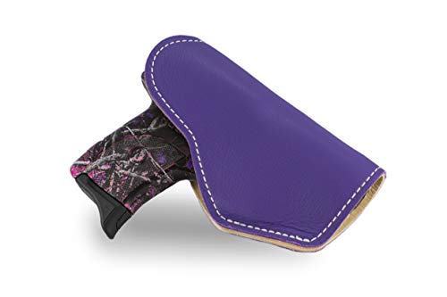 JM4 Tactical Magnetic Holster Purple Left Hand Medium | Great for Ruger LC9 | Glock 43 | Beretta Nano | Walther P22 & More!