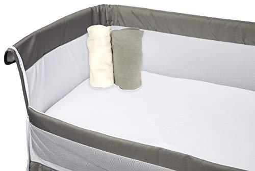 Babycalin Lot 2 Draps Housse 83 x 50 cm Berceau Bio 1 Unité BBC412103