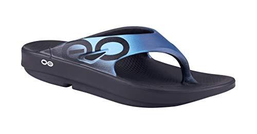 OOFOS Unisex Ooriginal Sport Recovery Sandalias - Azul - 3 UK