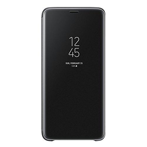 Galaxy S9+ (6.2インチ)用 Clear View Standing Cover 【Galaxy純正 国内正規品】 ブラック EF-ZG965CBEGJP