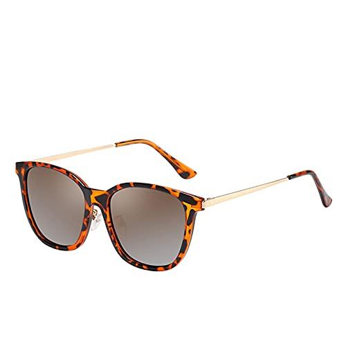 NBJSL Gafas de sol retro de ojos de gato para mujer, gafas vintage polarizadas de gran tamaño, gafas de sol con protección Uv400