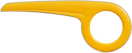 Dekaform Kettenschutz Easy Line 180-3 für Enik City Star Falter Fahrrad 36/38 Zähne * gelb