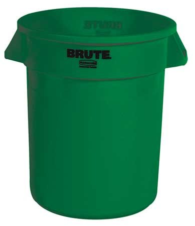 Nippon regular agency 20 gal. Round Dark ! Super beauty product restock quality top! Green Can Trash