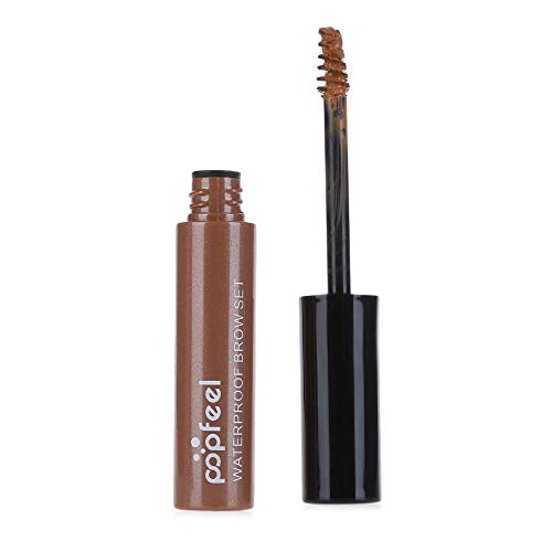 zroven POPFEEL Makeup Eye Brow Gel Langlebiges, wasserdichtes Augenbrauenverstärker-Kosmetikzubehör