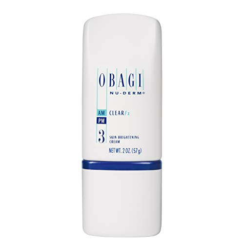 Obagi Medical Nu-Derm Clear Fx Skin Brightening Cream with Arbutin and Vitamin C for Dark Spots and Hyperpigmentation, Hydroquinone-Free Formula - 2 Oz (57 g),Pack of 1