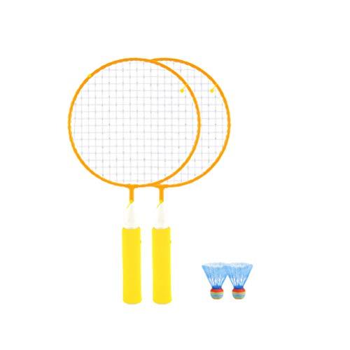 BESPORTBLE Badmintonschläger-Kit Kinder Badminton-Set mit 2 Schlägern Ballschläger Spielen Spiel Strandspielzeug Outdoor-Sportartikel Anfänger Training Zufällig