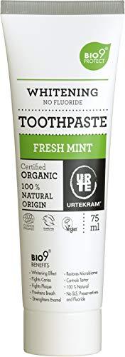 Urtekram Bio9 Fresh Mint Bio-Zahnpaste, Minzgeschmack, 75ml