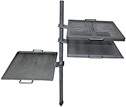 Camp Chef Mountain Man Over Fire Grill & Griddle, 16 in. x 18 in. Cooking Surfaces
