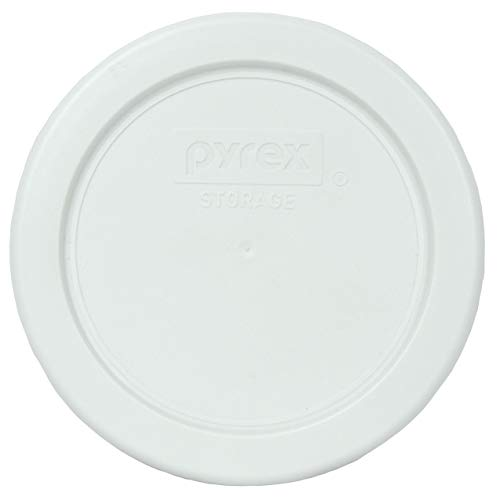 Pyrex 7202-PC White Round Plastic Food Storage Replacement Lid