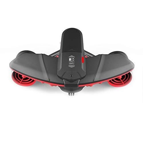 Bajo el agua scooter con Acción montaje de cámara Pantalla OLED 40M impermeable bajo el agua eléctrico Propulsor de Deporte en Buceo Snorkel Sea Adventures