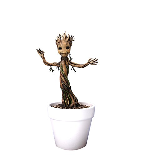 Guardians of the Galaxy DRA-38138 Marvel Baby Groot Figur 18cm aus Action Hero Vignettes Reihe, Mehrfarbig