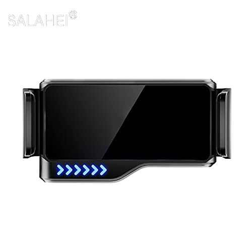 Phoenixset Soporte de Soporte de Soporte de Soporte de Soporte de ventilación aérea para automóvil para Samsung S8 Smartphone GPS Apto para 2014 2015 2016 2017 2017 2017-2020 (Color Name : Black)