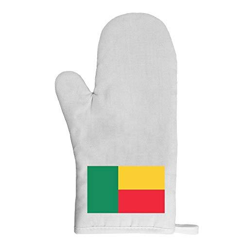 Mygoodprice Ofenhandschuh Topflappen Flagge Benin